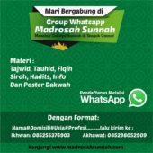 group-wa-madrosah-sunnah